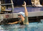 UNC's Stephanie Peacock led her team to a victory over the weekend. Photo Courtesy: ©Tim Binning/TheSwimPictures.com
