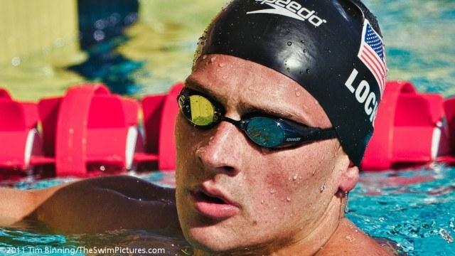 Ryan Lochte of Daytona Beach Swim Club