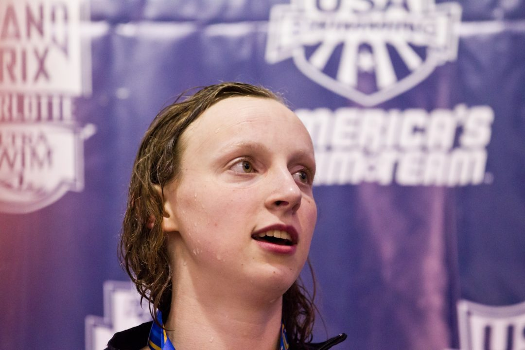 Americans Nearly Sweep, But for Big Upset by France's Other Manaudou