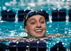 Rebecca Soni of the USA wins the 200m Breaststroke at the 2011 Mutual of Omaha Duel in the Pool held December 16 and 17, 2011 at Georgia Tech University in Atlanta, Georgia. (Photo Credit: Tim Binning, theswimpictures)