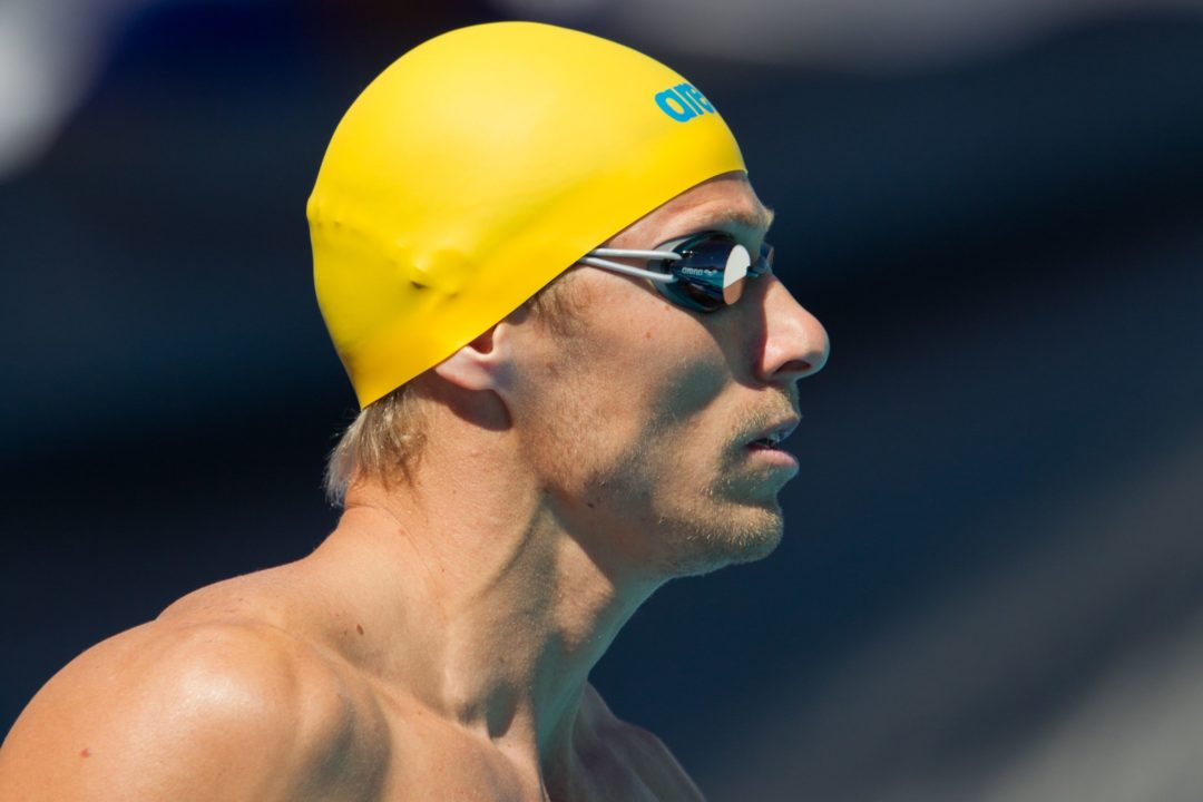 Roland Schoeman Wins 50 Breaststroke At Doha World Cup – Race Video