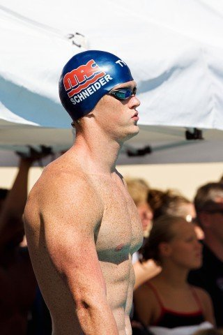 Josh Schneider, SwimMAC, coached by David Marsh (Photo Credit: Tim Binning, theswimpictures)