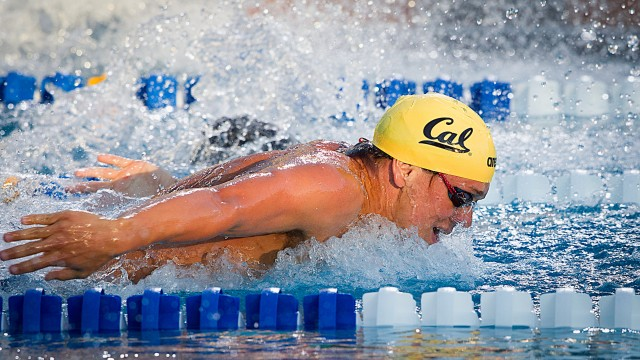Tom Shields of Cal Aquatics swims the 200 fly B final at the 2011 ConocoPhillips National Championships (Photo Credit: Tim Binning, theswimpictures)