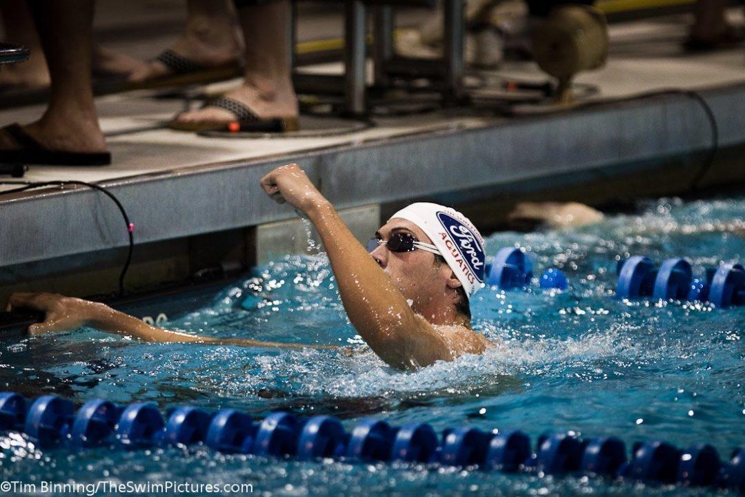 Olympian Simon Burnett Joins Pacific Tigers Swimming Staff