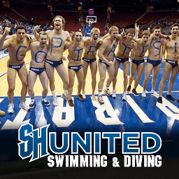 Seton Hall Swim Team Twitter Profile Picture