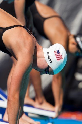 Madison Kennedy, 50 free, prelims, 2011 US National Championships (Photo Credit: Tim Binning, theswimpictures)