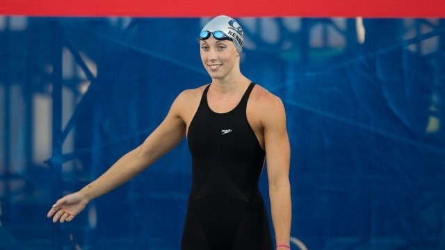 Madison Kennedy, 50 free, prelim, 2011 US National Championships (Photo Credit: Tim Binning, theswimpictures)