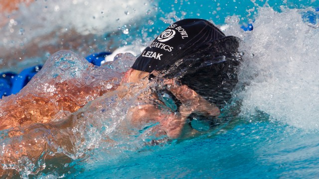 Jason Lezak, 100 freestyle prelim, 2010 US National Championships (Photo Credit: Tim Binning, the swim pictures)