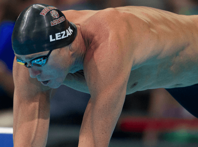 Jason Lezak, 2012 US Olympic Swimming Trials (Photo Credit: Tim Binning, the swim pictures)