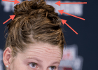 Missy Franklin: How to Make a Swimmer Bun