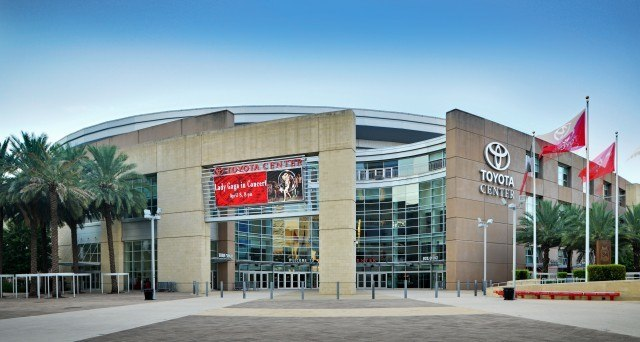 Houston's Toyota Center (Photo Courtesy: Ed Uthman)