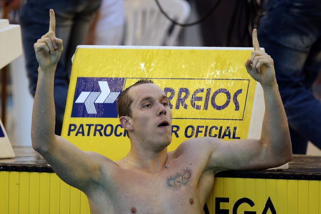 Rodrigues and Pereira Match 1:57's in 200 IM; Dos Santos Tops Cielo in 50 Fly