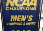 Michigan NCAA Championship Banner Arrives at Canham Natatorium