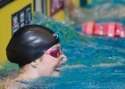 Missy Franklin breaks a US Open record to win the 100 backstroke in 53.67 at the 2013 World Championship Trials.