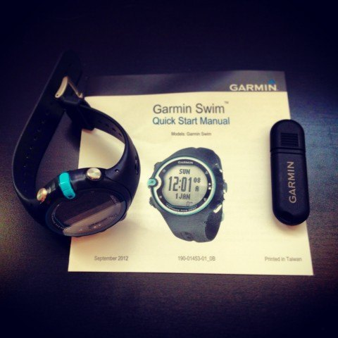 Garmin Swim Watch unboxed