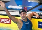 July 9, 2009.  Rebecca Soni takes down Jessica Hardy's American record in the 100 breaststroke going 1:05.34.  Hardy's previous record of 1:06.20 was set in 2005 and was a world record at the time. (Photo courtesy: Tim Binning/TheSwimPictures.com)