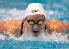 July 10, 2009. A rising Junior at Western Kentucky University, Claire Donahue wins the B final of the 100 fly. Donahue would win an Olympic Gold Medal as part of the 2012 USA 400 Medley Relay team.