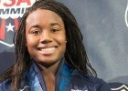 Simone Manuel, Rising Swim Star at the 2013 US World Championships Trials (Photo Credit: Tim Binning, theswimpictures)