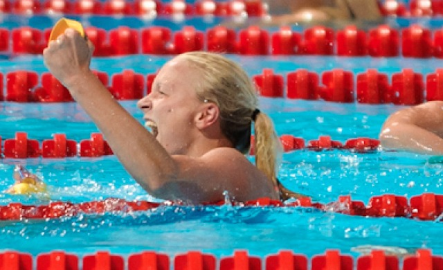 Sarah Sjostrom, 100 butterfly winner, 2013 FINA World Championships (Photo Credit Victor Puig, victorpuig.com)