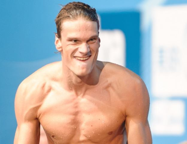 Yannick Agnel, French Olympic Swim Star, NBAC Athlete  (Photo Credit: Victor Puig, victorpuig.com)