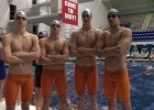 CATS Aquatics Boys Also Break 15-18 200 Medley National Age Group Record