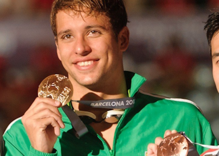 Chad Le Clos, 2013 SwimSwam Swammy Male Swimmer of the Year Award Winner