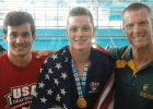 Matthew Klotz Breaks Deaf World Record in 200 Backstroke at Junior Nationals