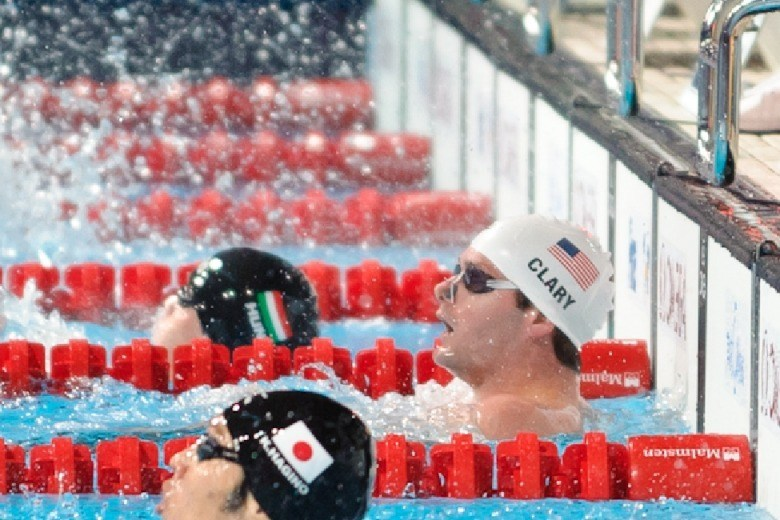 2013 World Championships Day 5 Prelims Photo Vault: Clary Tops 200 Back Prelim