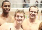 Dax Hill, Jimmy Feigen & Brendan Hansen at the Fastest Man in Texas Shootout (Image courtesy of MOO BOCS)