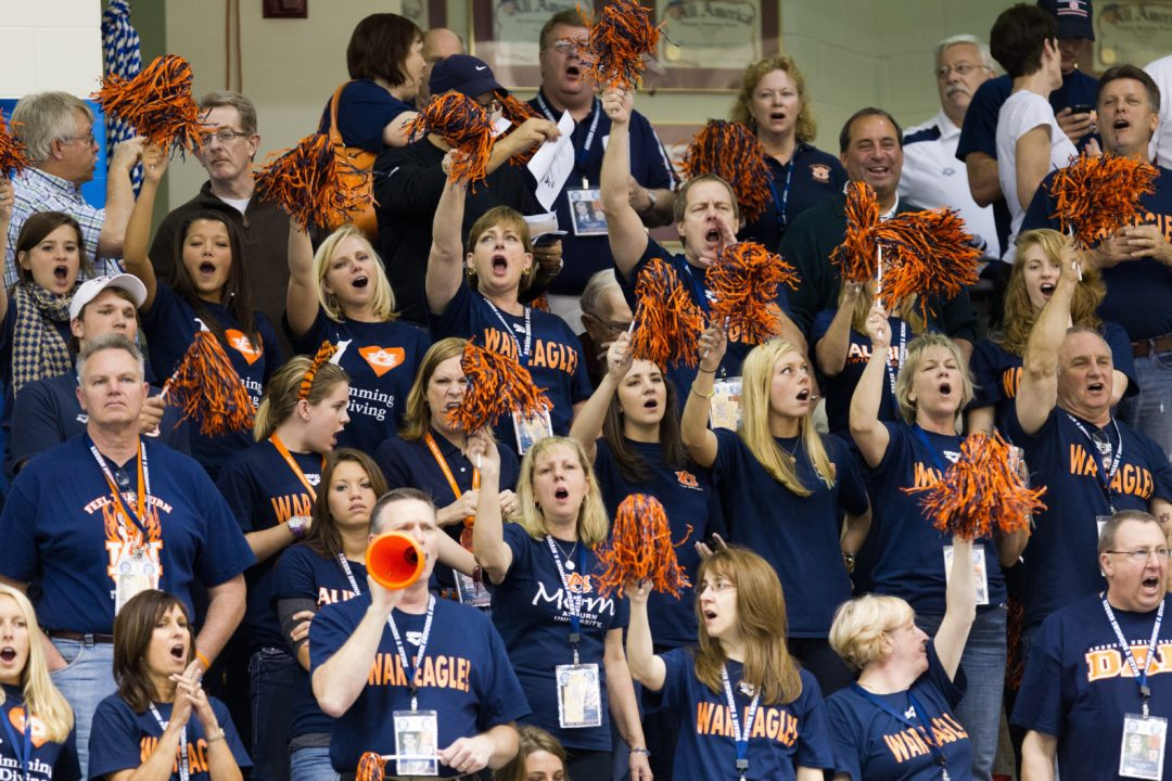 Auburn to Induct 7 Members into Swimming & Diving Hall of Fame
