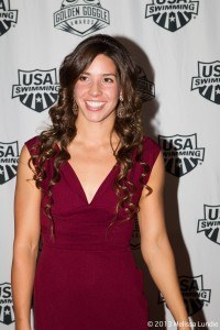 Maya Dirado at 2013 Golden Goggles  (courtesy of Melissa Lundie, melissalundie.com)