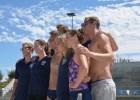 """Swim Like a Champion"" hosts - behind the scenes  (courtesy of Fitter and Faster Tour presented by Swimoutlet.com)"