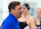 Duke University swimming and diving head coach Dan Colella