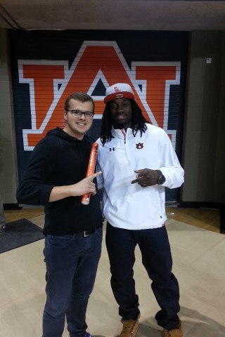 William McKinney with Sammie Coates, Auburn's Leading WR