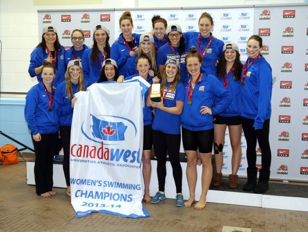 UBC Women Canada West Swimming Championships 2014