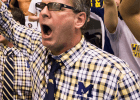 Mike Bottom, head coach of the University of Michigan, 2013 NCAA Champions (courtesy of Tim Binning/theswimpictures)