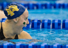 Emma Reaney American Record 200 yard breaststroke at the 2014 Women's ACC Championships (swim photo courtesy of Tim Binning, the swim pictures)