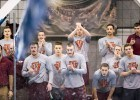 Virginia Tech, 2014 Men's ACC Swimming and Diving Championships (courtesy of Tim Binning, theswimpictures)
