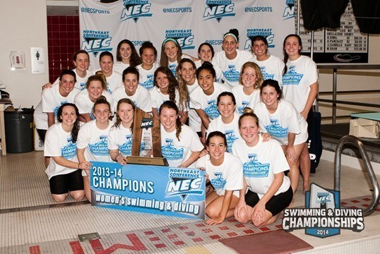 Wagner women won their first NEC championship in Cambridge, MA on Saturday. Photo courtesy of Northeast Conference.