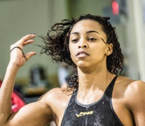 Arianna Vanderpool-Wallace, Team FINIS (courtesy of Mike Lewis)
