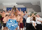 The 2014 ACC Swimming and Diving team champions and the coaches