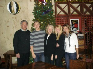 Family Shot 1 300x225 University of Southern Californias Jack Wagner: No Fears