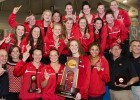 Georgia Bulldogs, National Champions at the 2014 Women's NCCA DI Championships (courtesy of Tim Binning, theswimpictures)