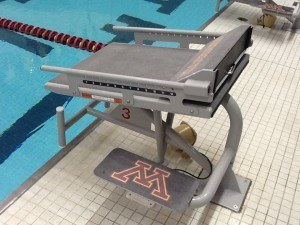 Minnesota Spectrum starting blocks