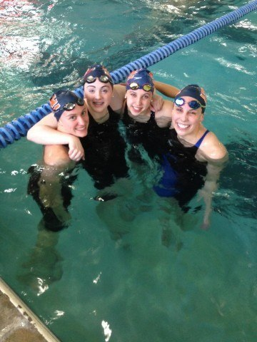 SwimMac breaks 15-18 400 medley NAG record