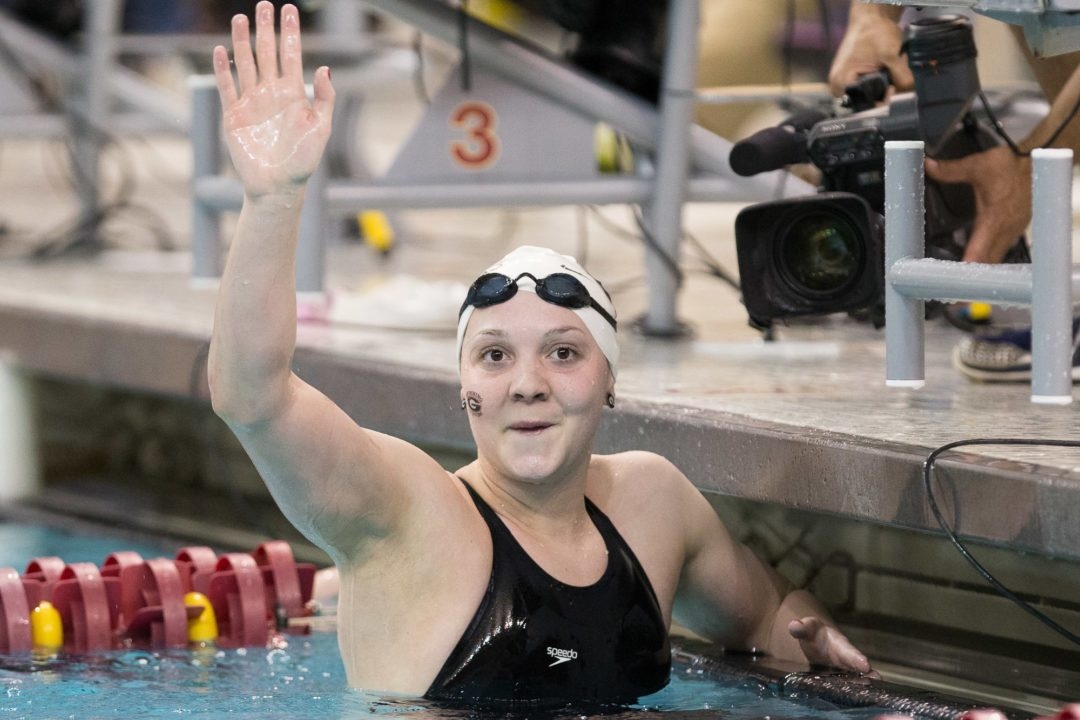 January 15th CSCAA Divsion I Women's Polls See Tie Atop Dual Meet Rankings