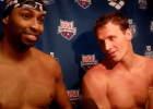 Cullen Jones and Ryan Lochte (Tim Binning, theswimpictures)