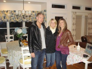 Jack & his older sisters - Alexandra and Kristen