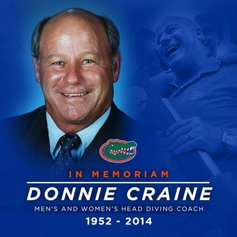 Donnie Craine, Florida Gators Diving