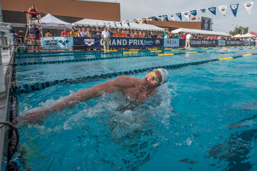 2013-2014 Arena Grand Prix Updated Standings: Conor Dwyer and Megan Romano Remain At The Top